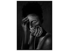 Obraz popiersie kobiety V0450 83x123