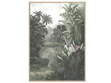 Obraz z tropikalnym pejzażem V0496 83x123