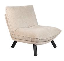 Fotel LAZY SACK - bawełna teddy