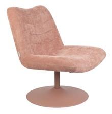 Fotel BUBBA - różowy
