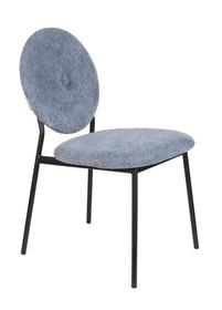 Krzesło MIST - szaro-niebieskie