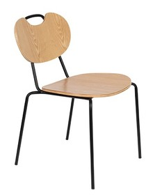 Krzesło ASPEN WOOD - naturalny