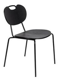 Krzesło ASPEN WOOD - czarny