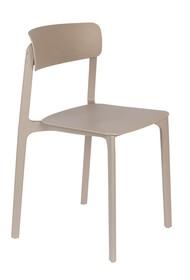Krzesło CLIVE - jasny brązowy