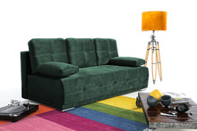Sofa 2-osobowa CASA - zielony