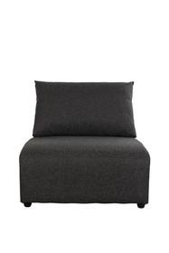 Sofa BREEZE Outdoor (element środkowy) - antracytowa