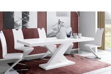 Stół rozkładany XENON 160 - matowy/biały