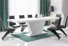 Stół rozkładany VEGA 160 - matowy/biały