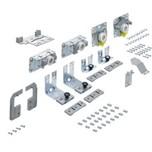 TopLine L, Zestaw elementów jezdnych i prowadzących, 18 - 30 mm, 2-drzwiowy, drzwi prawe przednie   Zestaw składa się z: elementów jezdnych i...