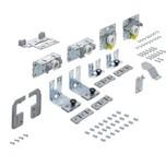 TopLine L, Zestaw elementów jezdnych i prowadzących, 18 - 30 mm, 2-drzwiowy, drzwi lewe przednie   Zestaw składa się z: elementów jezdnych i...