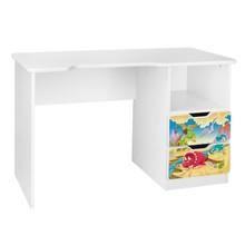 Biurko dziecięce z szufladami AMILA 32 - jura