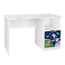 Biurko dziecięce z szufladami AMILA 33 - kosmos