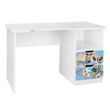 Biurko dziecięce z szufladami AMILA 47 - zebra