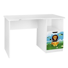 Biurko dziecięce z szufladami AMILA 58 - lew