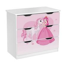 Komoda z szufladami AMILA 9 - księżniczka z sercem