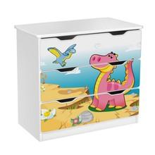 Komoda z szufladami AMILA 49 - dinozaur
