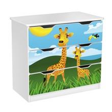 Komoda z szufladami AMILA 59 - żyrafy