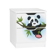 Szafka nocna z szufladami AMILA 4 - panda
