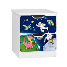 Szafka nocna z szufladami AMILA 33 - kosmos