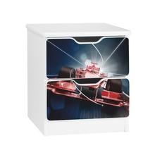 Szafka nocna z szufladami AMILA 35 - wyścigówka