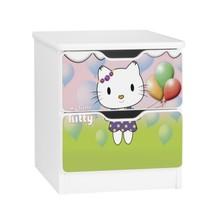 Szafka nocna z szufladami AMILA 65 - little kitty