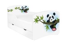 Łóżko dziecięce z szufladą DORA 4 - panda