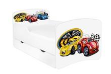 Łóżko dziecięce z szufladą DORA 7 - autka