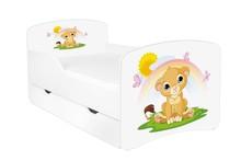 Łóżko dziecięce z szufladą DORA 11 - lwiątko