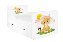 Łóżko dziecięce z szufladą ZUZA 11 - lwiątko