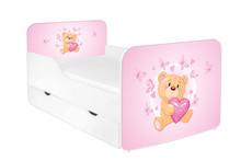 Łóżko dziecięce z szufladą ZUZA 23 - misiu