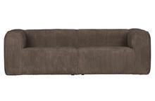 Sofa BEAN RIB 3,5 mud - brązowy