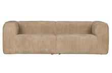 Sofa BEAN RIB 3,5 travertin - beżowy