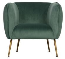 Fotel SCOUT velvet - zielony