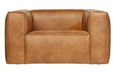 Fotel BEAN cognac - jasny brązowy