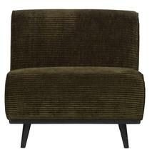 Fotel bez podłokietników STATEMENT RIB - zielony