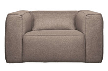 Fotel z poduszką BEAN taupe