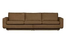Sofa 3-osobowa FAME - brązowy