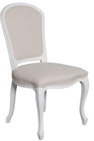 Krzesło drewniane tapicerowane TA 327 - biały