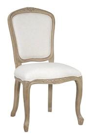Krzesło tapicerowane prowansalskie VENEZIA 811K - beżowy