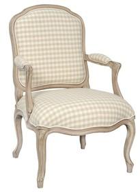 Fotel tapicerowany VENEZIA 812K - beżowy