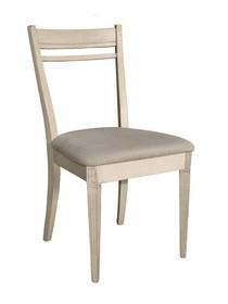 Krzesło drewniane LIMENA 608 - kość słoniowa
