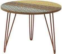 Stolik drewniany okrągły PORTOFINO 043B