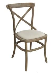 Krzesło drewniane LIMENA 885A - jasny brązowy