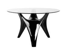Stół okrągły FT318 120 cm - czarny