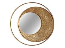 Lustro okrągłe TOY68-6727 Ø80 cm - złoty