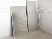 Lustro fazowane 12F-390 90x150 cm - srebrny