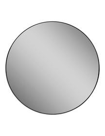 Lustro okrągłe 16F-572 Ø80 cm - czarny