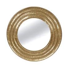 Lustro okrągłe TOYJ19-339 Ø81 cm - złoty