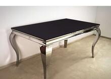 Stół TH306 150x90 - czarne szkło