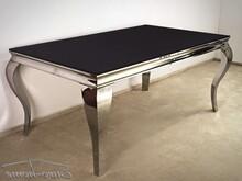 Stół TH306-1 200x100 - czarne szkło